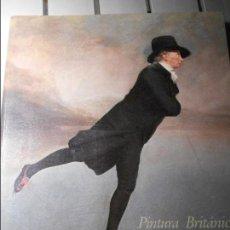 Libros de segunda mano: PINTURA BRITANICA. DE HOGARTH A TURNER. MUSEO DEL PRADO 198871989. RUSTICA CON SOLAPA. 258 PAGINAS.. Lote 169101117