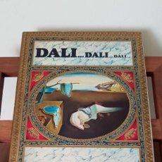 Libros de segunda mano: DALI...DALI...DALI... EDITORIAL GALAXIS. 1ª EDICION 1974. TEXTOS DE MAX GERARD.. Lote 169104600