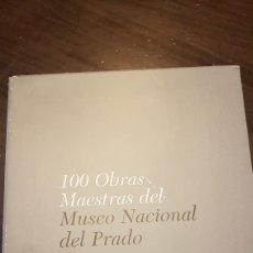 Libros de segunda mano: 100 OBRAS MAESTRAS DEL MUSEO NACIONAL DEL PRADO 4 VOLÚMENES. Lote 169127613