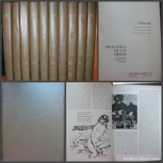 Libros de segunda mano: PINACOTECA DE LOS GENIOS CODEX EN 10TOMOS COMPLETA ( LA MAS GRANDIOSA COLECCION DE ARTE DEL MUNDO). Lote 215255537