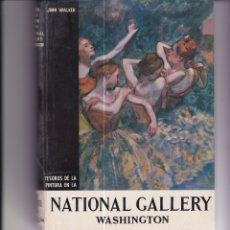 Libros de segunda mano: TESOROS DE LA PINTURA EN LA NATIONAL GALLERY DE WASHINGTON. Lote 169415124