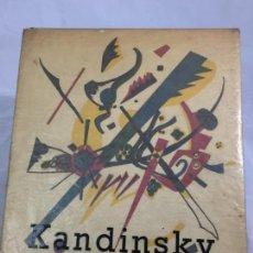Libros de segunda mano: WASSILY KANDINSKY PAR MAX BILL 1951, EN FRANCÉS ORIGINAL BUEN ESTADO. Lote 169654024