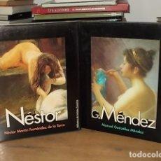 Libros de segunda mano: MANUEL GÓNZALEZ MÉNDEZ + NÉSTOR MARTÍN FERNÁNDEZ. BIBLIOTECA DE ARTIDTAS CANARIOS.. Lote 169727576