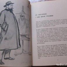 Libros de segunda mano: RETRATS DE RAMON CASAS .ES POLIGRAFA 1979 . ANDREU AVELI ARTIS. Lote 169795384