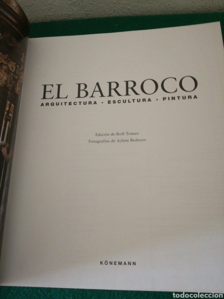 Libros de segunda mano: EL BARROCO ARQUITECTURA ESCULTURA PINTURA - Foto 2 - 169885128