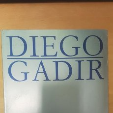 Libros de segunda mano: DIEGO GADIR. LOS PATOS MANDARINES I. CADIZ 1992. CATALOGO EXPOSICION. Lote 169977816
