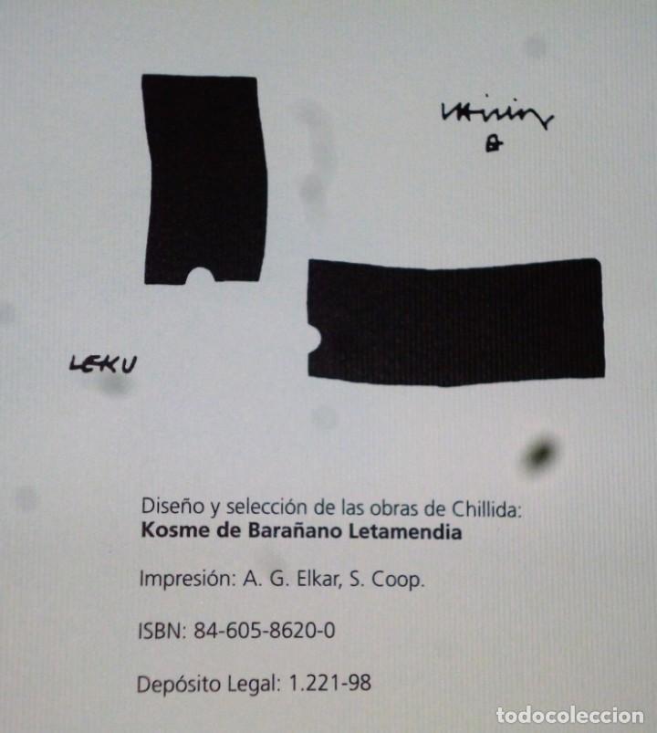 Libros de segunda mano: CHILLIDA. AROMAS-PENSAMIENTOS - Foto 2 - 170361240