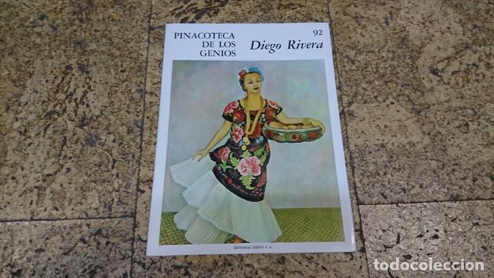 PINACOTECA DE LOS GENIOS, DIEGO RIVERA (Libros de Segunda Mano - Bellas artes, ocio y coleccionismo - Pintura)