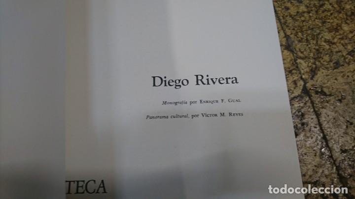 Libros de segunda mano: PINACOTECA DE LOS GENIOS, DIEGO RIVERA - Foto 2 - 170369516