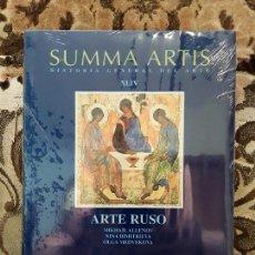 Libros de segunda mano: SUMMA ARTIS XLIV. ARTE RUSO. NUEVO, PRECINTADO.. Lote 170452456