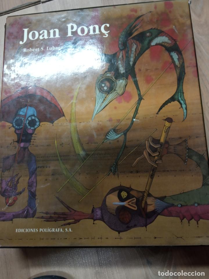 Libros de segunda mano: joan ponc -ediciones poligrafa 1994 - Foto 2 - 170561268