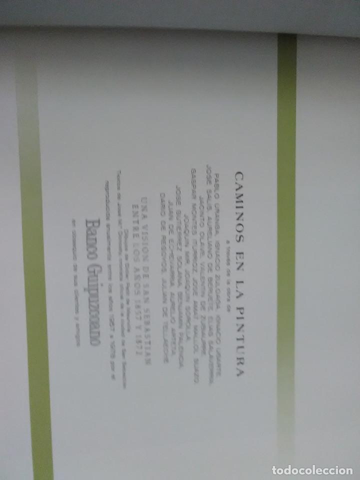 Libros de segunda mano: libro banco guipuzcoano exposicion caminos en la pintura - Foto 2 - 170857895