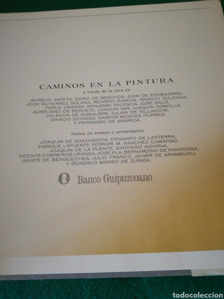 Libros de segunda mano: CAMINOS EN LA PINTURA - Foto 4 - 171304450