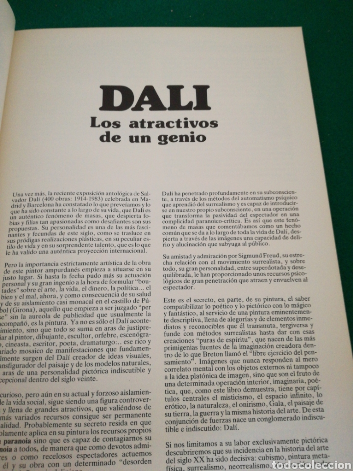 Libros de segunda mano: DALI LOS ATRACTIVOS DE UN GENIO - Foto 4 - 171318280