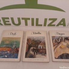 Libros de segunda mano: LE GRAND ART EN LIVRES DE POCHE.DEGAS/UTRILLO/DUFY.. Lote 171342062