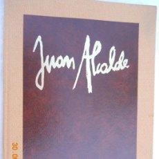 Libros de segunda mano: JUAN ALCALDE , CATALOGO DE PINTURAS 1979 EDICONES NAUTA 88 PAGINAS . Lote 171353829