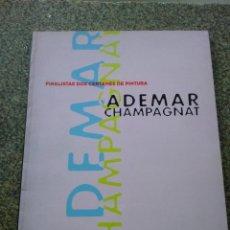 Libros de segunda mano: FINALISTAS DOS CERTAMES DE PINTURA ADEMAR CHAMPAGNAT -- XUNTA DE GALICIA 1994 - -. Lote 171438950