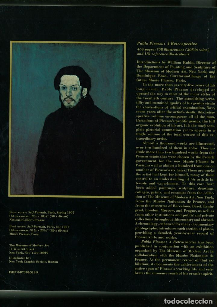 Libros de segunda mano: PABLO PICASSO A RETROSPECTIVE. William Rubin - Foto 3 - 171448662