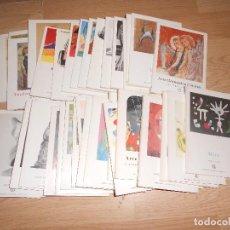 Libros de segunda mano: COLECCION MINIA - LOTE 37 LIBRITOS - MIRO / PICASSO / VELAZQUEZ / KANDINSKY / CEZANNE / ETC..... Lote 171685939