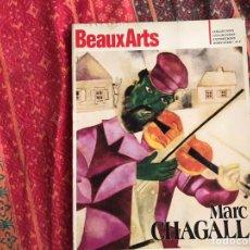 Libros de segunda mano: MARC CHAGALL. BEAUX ARTS. EN FRANCÉS TEXTO.. Lote 171964959