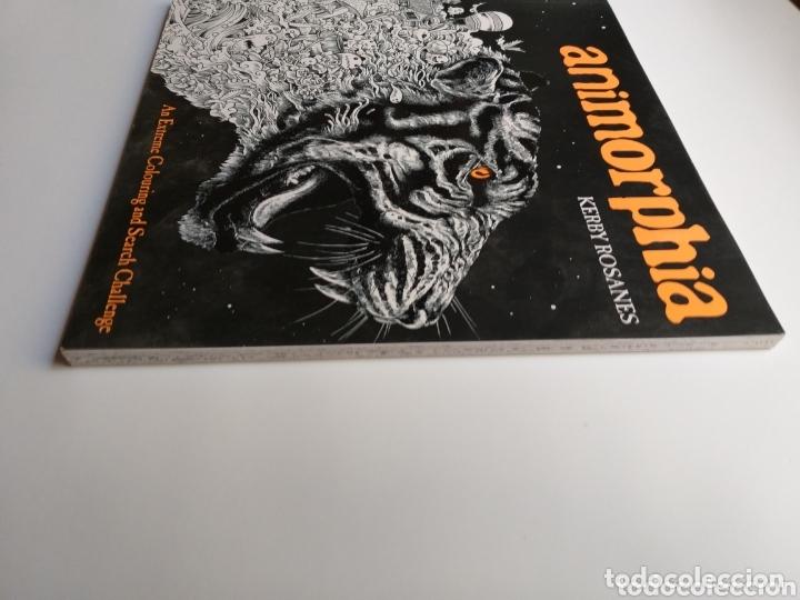 Libros de segunda mano: Pintura dibujo . Animorphia . Kerby Rosanes . An extreme colouring and Search challenge - Foto 4 - 173011258