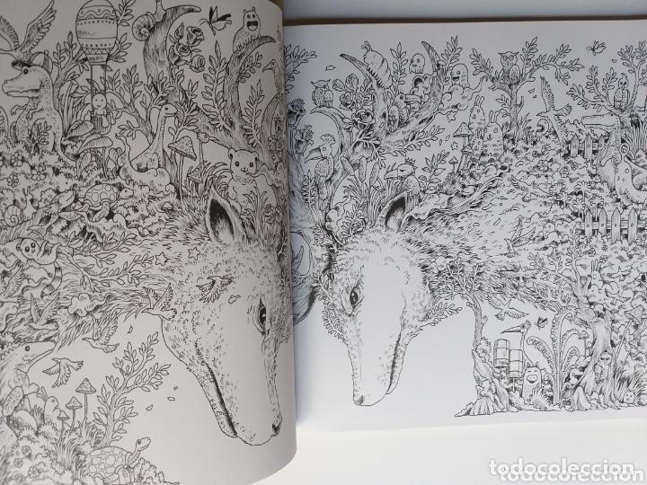 Libros de segunda mano: Pintura dibujo . Animorphia . Kerby Rosanes . An extreme colouring and Search challenge - Foto 8 - 173011258