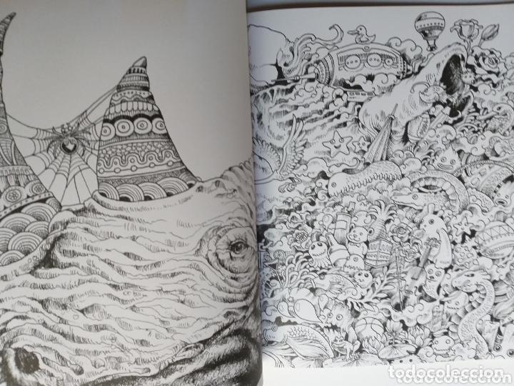 Libros de segunda mano: Pintura dibujo . Animorphia . Kerby Rosanes . An extreme colouring and Search challenge - Foto 9 - 173011258