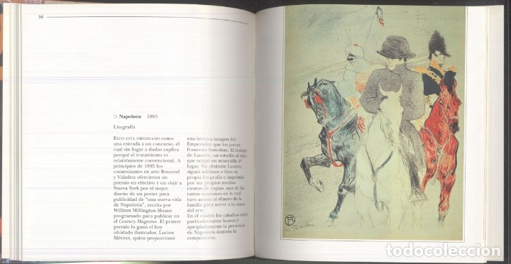 Libros de segunda mano: LA VIDA Y OBRAS DE LAUTREC.- Nathaniel Harris - 1997 - Foto 9 - 173567119