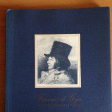 Libros de segunda mano: GOYA EN LA CALCOGRAFIA NACIONAL. 1990. EDITADO POR BMW. Lote 173634115