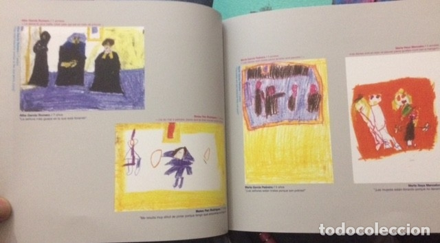 Libros de segunda mano: garabatos y dibujos infantiles: una aproximación diferente a nuestra colección de arte. - Foto 3 - 173717462