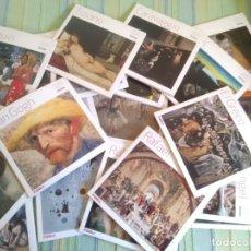 Libros de segunda mano: GRANDES MAESTROS DE LA PINTURA. COLECCIÓN COMPLETA. 24 LIBROS. DIARIO PÚBLICO.. Lote 173797288