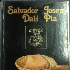 Libros de segunda mano: SALVADOR DALI. JOSEP PLA. OBRES DE MUSEU.. Lote 173695490