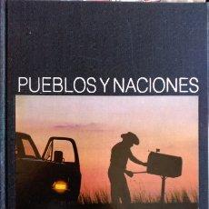 Libros de segunda mano: PUEBLOS Y NACIONES: ESTADOS UNIDOS.. Lote 173706970