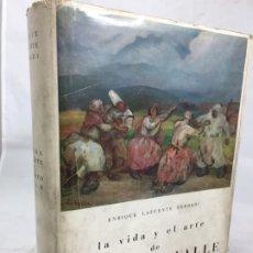 Libros de segunda mano: LA VIDA Y EL ARTE DE EVARISTO VALLE - ENRIQUE LAFUENTE FERRARI 1963 DIPUTACIÓN DE OVIEDO. Lote 173994962