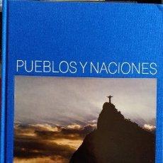 Libros de segunda mano: PUEBLOS Y NACIONES: BRASIL.. Lote 173706960