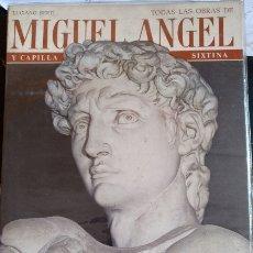 Libros de segunda mano: TODAS LAS OBRAS DE MIGUEL ANGEL. - BERTI, LUCIANO.. Lote 173752659