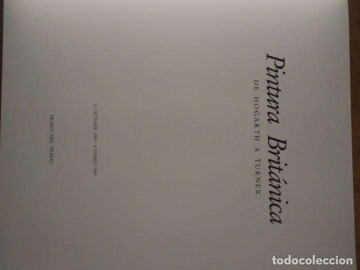 Libros de segunda mano: Pintura británica de Hogarth a Turner - Foto 2 - 174159513