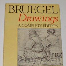 Libros de segunda mano: BRUEGEL - DRAWINGS - A COMPLETE EDITION - PHAIDON - CON DÍPTICOS DE EDICIÓN. Lote 174552739