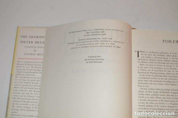 Libros de segunda mano: BRUEGEL - DRAWINGS - A COMPLETE EDITION - PHAIDON - CON DÍPTICOS DE EDICIÓN - Foto 4 - 174552739