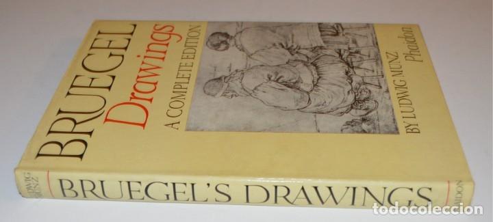 Libros de segunda mano: BRUEGEL - DRAWINGS - A COMPLETE EDITION - PHAIDON - CON DÍPTICOS DE EDICIÓN - Foto 23 - 174552739