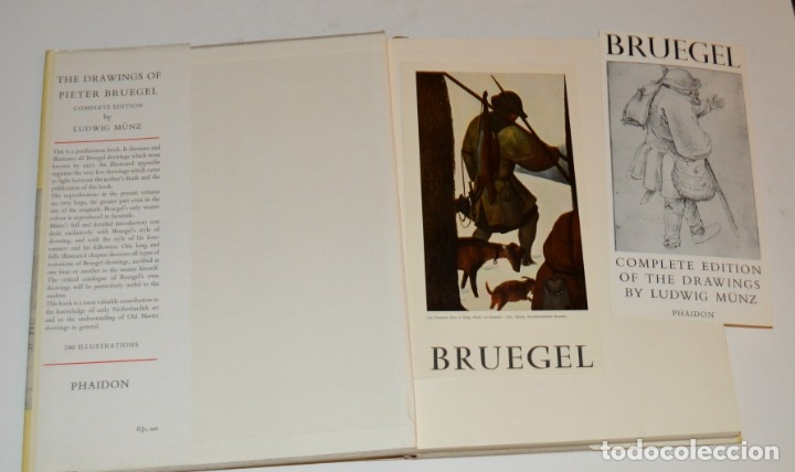 Libros de segunda mano: BRUEGEL - DRAWINGS - A COMPLETE EDITION - PHAIDON - CON DÍPTICOS DE EDICIÓN - Foto 24 - 174552739