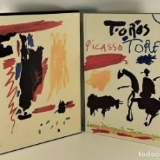 Libros de segunda mano: PICASSO. TOROS Y TOREROS. EDIT. GUSTAVO GILI. BARCELONA. 1961.. Lote 175044452