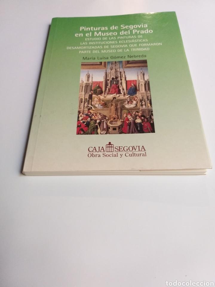 Libros de segunda mano: Segovia pintura antigua . Pinturas de Segovia en el Museo del Prado estudio de las pinturas de las i - Foto 3 - 175220033