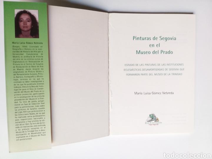 Libros de segunda mano: Segovia pintura antigua . Pinturas de Segovia en el Museo del Prado estudio de las pinturas de las i - Foto 7 - 175220033