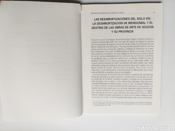 Libros de segunda mano: Segovia pintura antigua . Pinturas de Segovia en el Museo del Prado estudio de las pinturas de las i - Foto 11 - 175220033