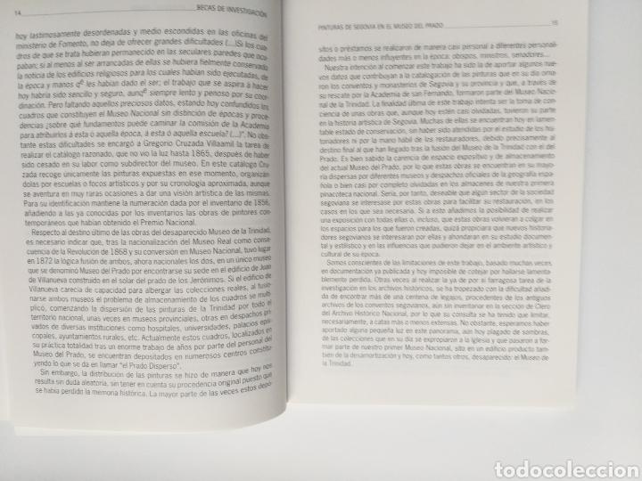 Libros de segunda mano: Segovia pintura antigua . Pinturas de Segovia en el Museo del Prado estudio de las pinturas de las i - Foto 12 - 175220033