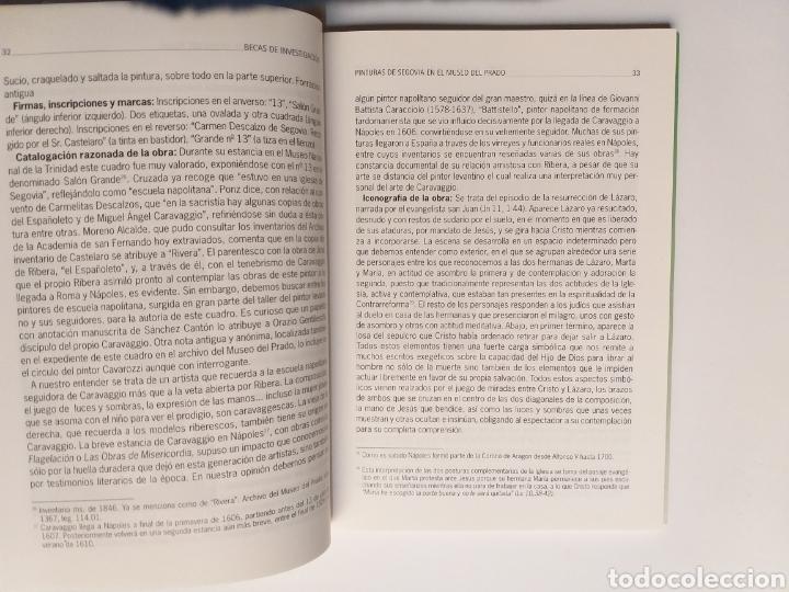 Libros de segunda mano: Segovia pintura antigua . Pinturas de Segovia en el Museo del Prado estudio de las pinturas de las i - Foto 13 - 175220033