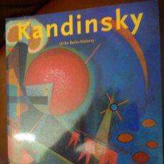 Libros de segunda mano: VASILI KANDINSKY,1994, 1866-1944,EN CAMINO HACIA LA ABSTRACCION. ULRIKE BECKS-MALORNY, 200PP.. Lote 175357284