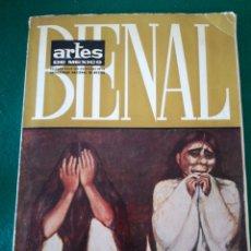 Libros de segunda mano: REVISTA ARTES DE MEXICO LA PINTURA DE AMERICA EN LA BIENAL DE MEXICO. Lote 175404729