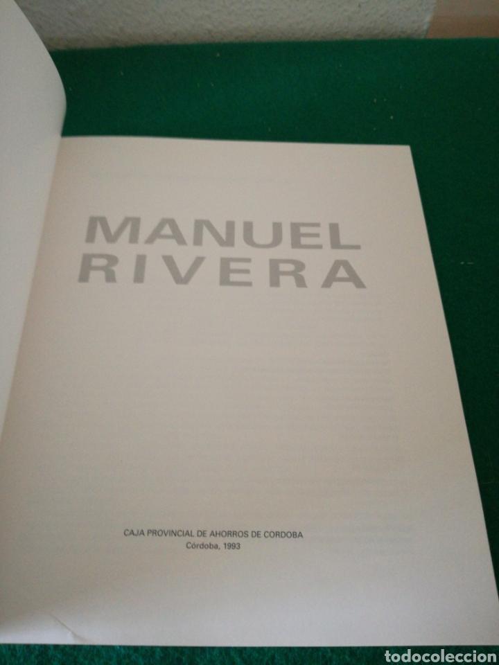 Libros de segunda mano: MANUEL RIVERA CATALOGO - Foto 3 - 175406093